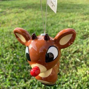 Hallmark Holiday - 🆕 Hallmark Rudolph the red nose reindeer Ornament